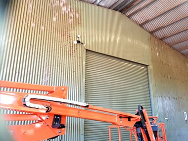 Commercial Shed Cleaning