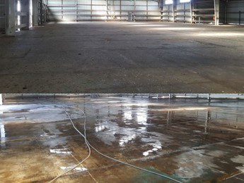 Large Shed Cleaning Internally