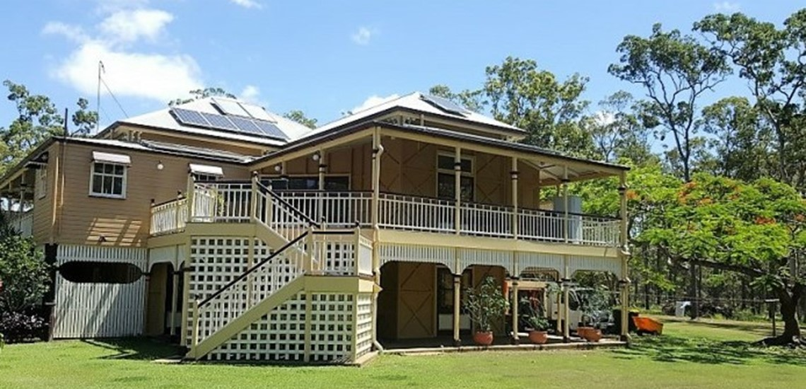 After a  house wash of this beautiful old Queenslander