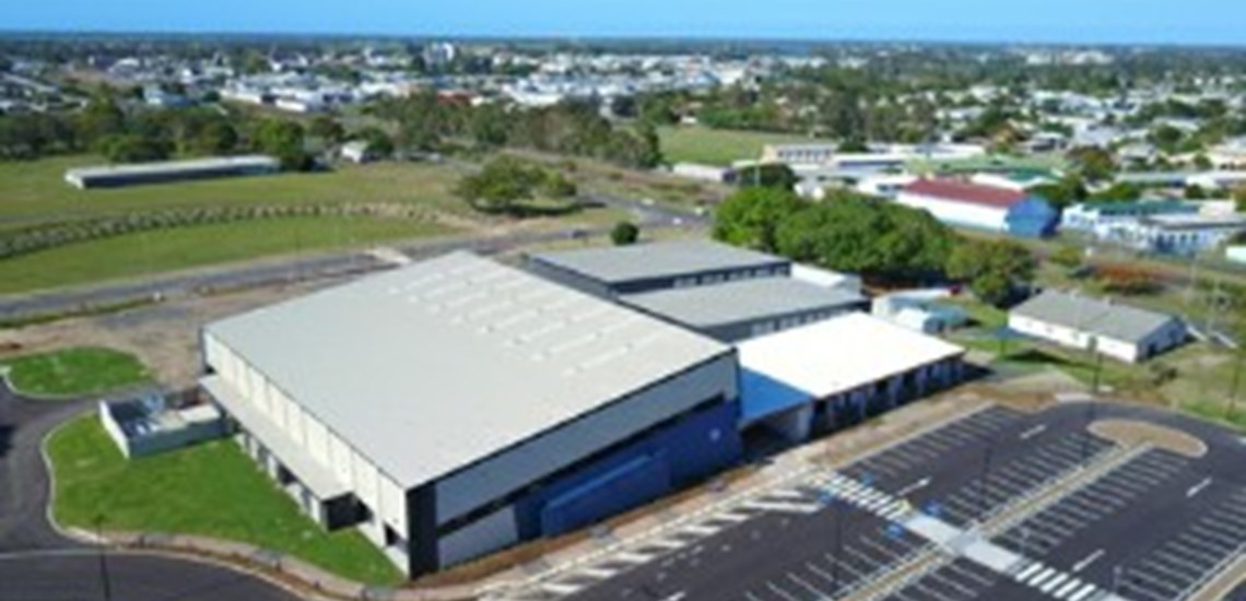 Bundaberg Multiplex exterior cleaning