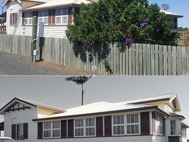 Exterior house cleaning for a NDIS participant