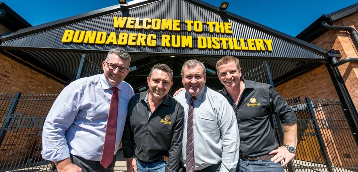 Long term contract looking after Bundaberg Rum offices and all areas inside and out.